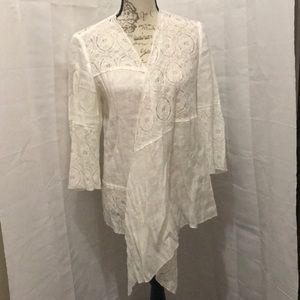 Lace and cotton